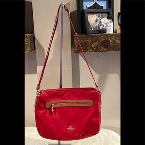COACH SAWYER Crossbody Bag EUC
